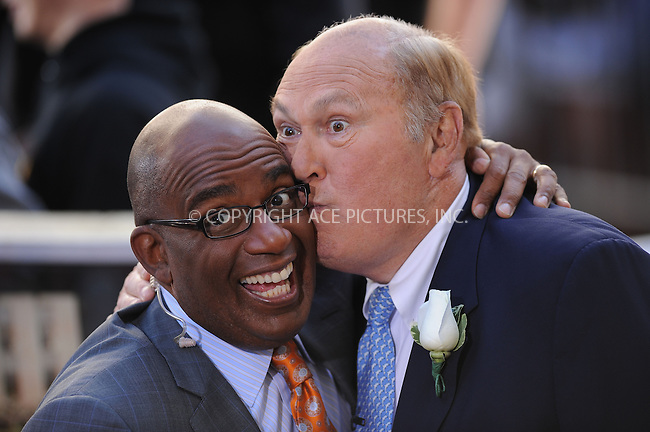WWW.ACEPIXS.COM . . . . . ....July 14 2009, New York City....Presenters Al Roker and Willard Scott on NBC's 'Today' show at the Rockefeller Center on July 14, 2009 in New York City.....Please byline: KRISTIN CALLAHAN - ACEPIXS.COM.. . . . . . ..Ace Pictures, Inc:  ..tel: (212) 243 8787 or (646) 769 0430..e-mail: info@acepixs.com..web: http://www.acepixs.com