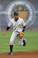 July 8 2009: Joey Wong of the Tri City Dust Devils during game against the Salem-Kaizer Volcanoes at Volcano  Stadium in Kaizer,OR.  Photo by Larry Goren/Four Seam Images