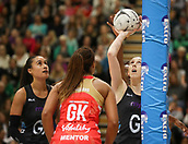 10th September 2017, PG Arena, Napier, New Zealand; Taini Jamison Netball Trophy, New Zealand versus England;  New Zealands Bailey Mes