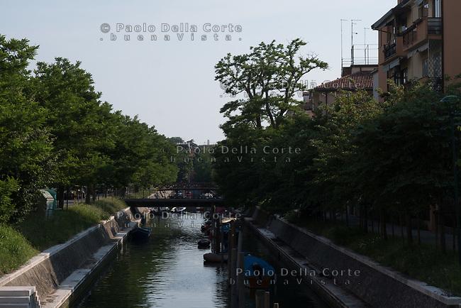 Venezia - Il Lido. La zona di via Cipro.