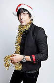 Dec 19, 2012 : IAN WATKINS - The lead singer of the Welsh heavy metal band LOSTPROPHETS has been charged with conspiracy to rape a one year girl and is remanded in custody until Dec 31, 2012.  Ian Watkins is photographed here during a studio photosession for heavy metal magazine Kerrang! in London UK - OCT 18, 2012.   Photo credit: Ashley Maile/Iconicpix  **NO WEBSITES* *
