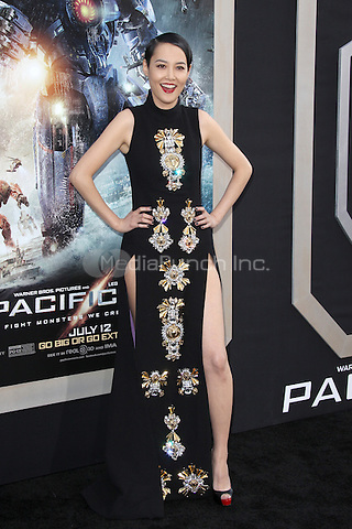 HOLLYWOOD, CA - JULY 9:  Rinko Kikuchi at the Pacific Rim  Premiere held at the Dolby Theatre in Hollywood, California. July 9, 2013. Credit: mpi21/MediaPunch Inc.
