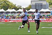 January 27th, Hamilton, New Zealand;  Fiji's Vilimoni Botitu in action during the Day 2 of the HSBC World Rugby Sevens Series 2019, FMG Stadium Waikato,Hamilton, Sunday 27th January 2019.