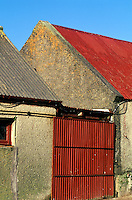 Irish farm buildings, County Kerry, Ireland