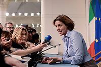 Roma, 19 Maggio 2017<br /> Beatrice Lorenzin<br /> Conferenza stampa al termine del Consiglio dei Ministri su vaccinazione obbligatoria