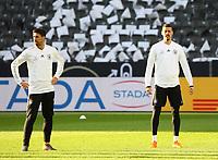 Sami Khedira (Deutschland Germany), Sandro Wagner (Deutschland Germany) - 26.03.2018: Abschlusstraining der Deutschen Nationalmannschaft, Olympiastadion Berlin