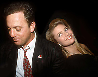 BIlly Joel and Christie Brinkley 1982<br /> Photo By Adam Scull/PHOTOlink.net/MediaPunch