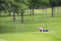 Kenny Fahey (GUI National Academy) plays from a bunker at the 7th green during Round 1 of the Titleist &amp; Footjoy PGA Professional Championship at Luttrellstown Castle Golf &amp; Country Club on Tuesday 13th June 2017.<br /> Photo: Golffile / Thos Caffrey.<br /> <br /> All photo usage must carry mandatory copyright credit     (&copy; Golffile | Thos Caffrey)