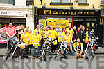 Dog's Trust Cycle Run : Members of the Madmuttz Motor Cycle Club pictured prior to their cycle run on Saturday in front of Flannagans Bar, Listowel ..