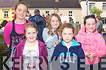 PET SHOW: Enjoying the pet show at the Annascual Fair on Sunday l-r: Sarah Campion, Rachel and Kate O'Connor, Emma McCarthy, Saoirse May.