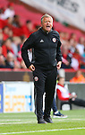 Chris Wilder manager of Sheffield Utd during the League One match at Bramall Lane Stadium, Sheffield. Picture date: September 17th, 2016. Pic Simon Bellis/Sportimage