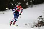 09/12/2016, Pokljuka - IBU Biathlon World Cup.<br /> Gabriela Koukalova competes at the sprint race in Pokljuka, Slovenia on 09/12/2016.