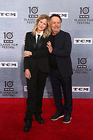 """Los Angeles CA Apr 11: Meg Ryan and Bily Crystal, arrive to 2019 TCM Classic Film Festival Opening Night Gala And 30th Anniversary Screening Of """"When Harry Met Sally"""", TCL Chinese Theatre, Los Angeles, USA on April 11, 2019 <br /> CAP/MPI/FS<br /> ©FS/MPI/Capital Pictures"""