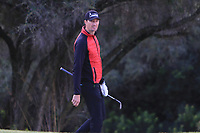 Sebastian Heisele (GER) on the 4th during Round 3 of the Challenge Tour Grand Final 2019 at Club de Golf Alcanada, Port d'Alcúdia, Mallorca, Spain on Saturday 9th November 2019.<br /> Picture:  Thos Caffrey / Golffile<br /> <br /> All photo usage must carry mandatory copyright credit (© Golffile | Thos Caffrey)