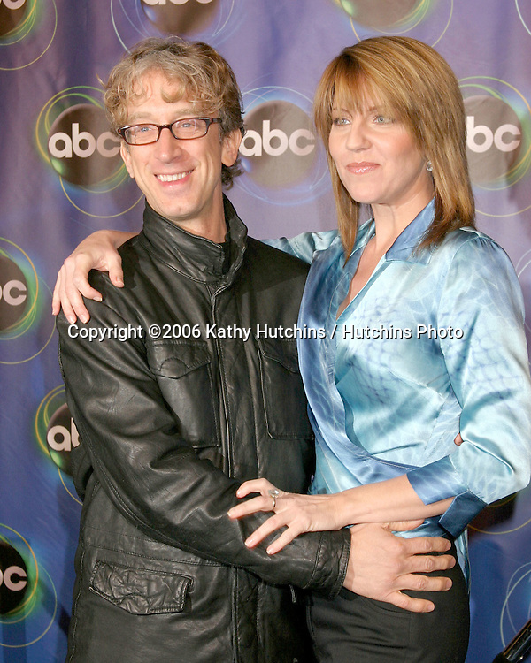 Andy Dick.Andrea Parker.ABC TV TCA Party.The Wind Tunnel.Pasadena, CA.January 21, 2006.©2006 Kathy Hutchins / Hutchins Photo....