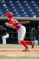 Philadelphia Phillies outfielder Liam Bedford #7 during an Instructional League game against the Toronto Blue Jays at Brighthouse Field on October 7, 2011 in Clearwater, Florida.  (Mike Janes/Four Seam Images)