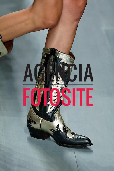 Londres, Inglaterra &sbquo;09/2014 - Desfile de Felder Felder durante a Semana de moda de Londres  -  Verao 2015. <br /> <br /> Foto: FOTOSITE