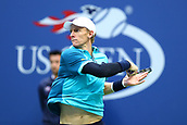 8th September 2017, Flushing Meadows, New York, USA;  KEVIN ANDERSON (RSA) during day twelve match of the 2017 US Open on September 08, 2017 at Billie Jean King National Tennis Center, Flushing Meadow, NY.