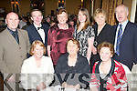 Enjoying the night out at the Irish Furnishing Trades Benevolent Association Kerry Annual Ball in The Ballygarry House Hotel on Saturday night were seated l/r Peggy O'Carroll, Causeway, Mary Wrenn, The Spa and Peggy Walsh, Connelly Pk., standing l/r Johnny O'Carroll, Causeway, John & Norma O'Connell, Kilmoyley, Helena Wrenn, The Spa, Mary & Eugene Newman, Kilmoyley..Birthday Boy - Dan O'Sullivan, St. Brendan's Pk., seated centre having a great time at his 25th birthday party held in The Dragon Inn Chinese Restaurant on Saturday night. Seated l/r Susan Griffin, Dan O'Sullivan and Sarah Scanlon. Standing l/r Glen Creighton, Luke Osade, Jonathon Courcrane, James O'Grady, David O'Grady and Gavin Griffin..Birthday Boy - Dan O'Sullivan, St. Brendan's Pk., seated centre having a great time at his 25th birthday party held in The Dragon Inn Chinese Restaurant on Saturday night. Seated l/r Susan Griffin, Dan O'Sullivan and Sarah Scanlon. Standing l/r Glen Creighton, Luke Osade, Jonathon Courcrane, James O'Grady, David O'Grady and Gavin Griffin..   Copyright Kerry's Eye 2008