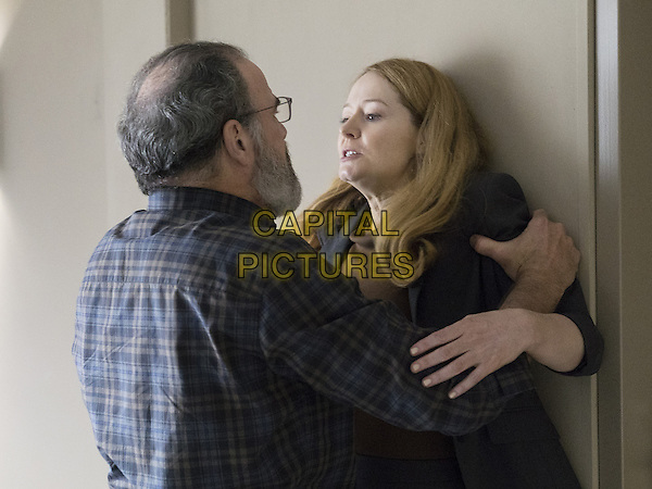 Homeland (2011-)<br /> (Season 5)<br /> Mandy Patinkin as Saul Berenson and Miranda Otto as Allison Carr<br /> *Filmstill - Editorial Use Only*<br /> CAP/FB<br /> Image supplied by Capital Pictures