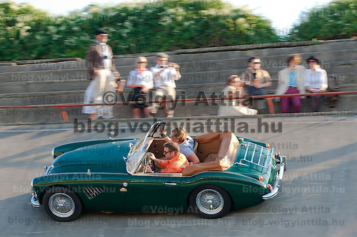 HIstoric car race in Budapest, Hungary on September 17, 2011. ATTILA VOLGYI
