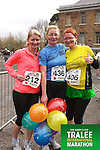 Margaret Mahoney 212, Kathleen White 436, Mary Toomey 406, who took part in the Kerry's Eye Tralee International Marathon on Sunday 16th March 2014.