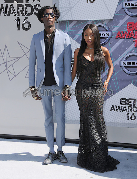 26 June 2016 - Los Angeles. Young Thug. Arrivals for the 2016 BET Awards held at the Microsoft Theater. Photo Credit: Birdie Thompson/AdMedia