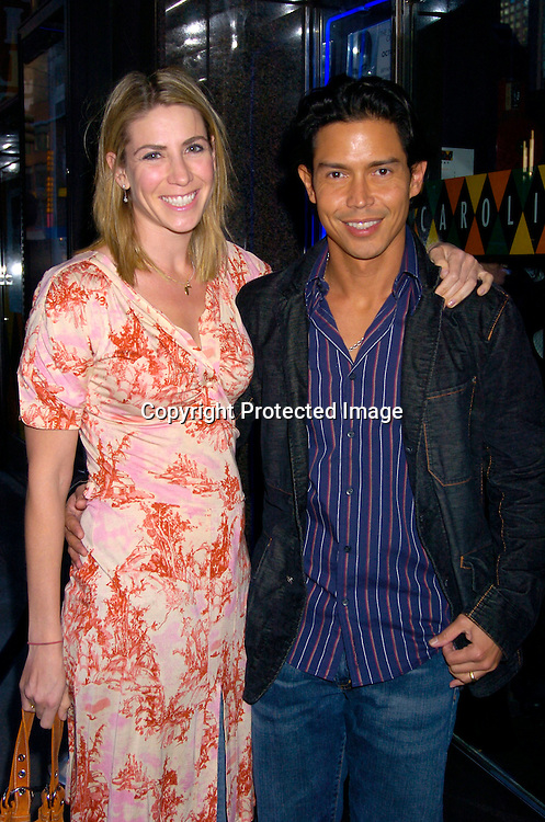 Anthony Ruivivar and wife Yvonne ..at the 20th Annual Artios Awards for Outstanding Achievements in Casting on October 12, 2004 at ..Caroline's on Broadway. ..Photo by Robin Platzer, Twin Images