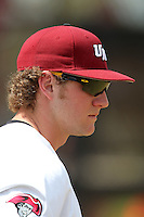 UMass Ryan Franczek #6 during a game vs Indiana Hoosiers at Lake Myrtle Main Field in Auburndale, Florida;  March 16, 2011.  Indiana defeated UMass 11-10.  Photo By Mike Janes/Four Seam Images