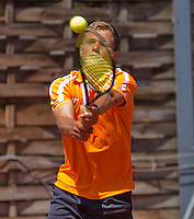 Austria, Kitzbühel, Juli 18, 2015, Tennis,  Junior Davis Cup,  Bart Stevens (NED) <br /> Photo: Tennisimages/Henk Koster