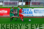 Action from the Kerry DL v Limerick Desmond League in the Oscar Traynor Trophy game in Mounthawk Park on Sunday.