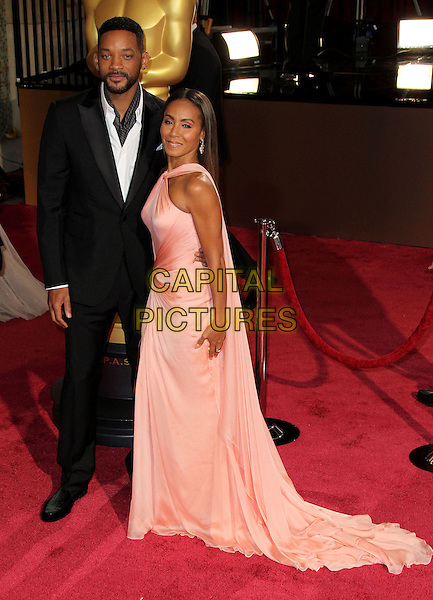 02 March 2014 - Hollywood, California - Will Smith, Jada Pinkett Smith. 86th Annual Academy Awards held at the Dolby Theatre at Hollywood &amp; Highland Center. <br /> CAP/ADM/RE<br /> &copy;Russ Elliot/AdMedia/Capital Pictures