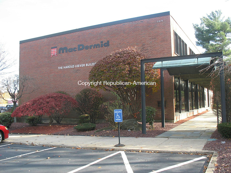WATERBURY, CT- 14 November 2013-111413MJ01-- MacDermid Group Inc.'s research and technical center on Freight Street.
