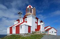 Cape Bonavista Lighthouse on Bonavista Bay in the Atlantic Ocean<br />Cape Bonavista<br />Newfoundland & Labrador<br />Canada