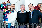 Bronagh Moriarty, Daniel Moriarty, David Brosnan and Mike O'Shea, pictured at the Kingdom Greyhound Stadium, Tralee, GAA Night of Champions on Friday night last.