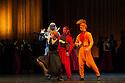 Edinburgh, UK. 29.08.2012. Mariinsky Ballet presents CINDERELLA as part of the Edinburgh International Festival. Picture shows: Ekaterina Kondaurova (Stepmother). Photo credit: Jane Hobson.