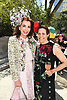 Fe Fendi and Alexandra Lebenthal attend the Central Park Conservancy Hat Luncheon on May 2, 2018 in the Conservatory Garden in New York, New York, USA.<br /> <br /> photo by Robin Platzer/Twin Images<br />  <br /> phone number 212-935-0770