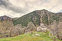 Transfiguration of the Savior church in Chaliki, Greece