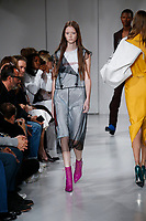 Calvin Klein catwalk fashion show<br /> at New York Fashion Week<br /> Spring Summer 2018<br /> in New York, USA September 2017.<br /> CAP/GOL<br /> &copy;GOL/Capital Pictures