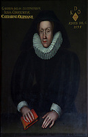 Katherine Oliphant (misspelled on the portrait), second wife of George Dundas, by an unknown hand. Her determination to provide for her son led to the purchase of Arniston in 1571