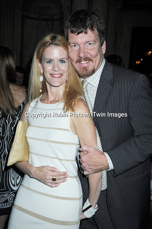 Alex McCord and husband Simon van Kempen attending The TV Guide 3000th Issue and The Power List on June 14, 2010 at Gilt at The New York Palace Hotel in New York City.