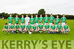 The St Kierans team that played Kenmare district in the U21 County semi final in Currow on Thursday evening