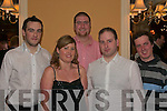 Attending the Kerry branch of the Irish Professional Agricultural Contractors(IPAC) Annual dinner dance in Ballingarry House Hotel last Saturday night    Copyright Kerry's Eye 2008