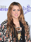 "Miley Cyrus attends the Paramount Pictures' L.A. Premiere of ""JUSTIN BIEBER: NEVER SAY NEVER."" held at The Nokia Theater Live in Los Angeles, California on February 08,2011                                                                               © 2010 DVS / Hollywood Press Agency"
