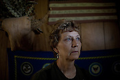 KARNES COUNTY, TX - SEPTEMBER 25, 2013: Portrait of Lynn Buehring at her home where she lives with her husband near Karnes City, Texas. CREDIT: Lance Rosenfield/Prime