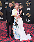 "Carey Hart, Willow Sage and Pink attends The Premiere Of Disney's ""Alice Through The Looking Glass"" held at The El Capitan Theatre  in Hollywood, California on May 23,2016                                                                               © 2016 Hollywood Press Agency"