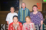 9922-9926.---------.Let's do the Twist.------------------.Burning up the floor in the Grand hotel,Denny St,Tralee last Friday night for the Social Dancing were local friend's(seated)L-R Kay Long and Kitty Morrissey(back)L-R Mairie Feely,Michael Long and Kathleen McMullan.