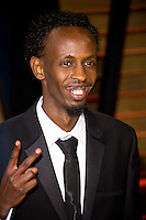 Barkhad Abdi arriving for the 2014 Vanity Fair Oscars Party, Los Angeles. 02/03/2014 Picture by: James McCauley/Featureflash