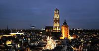 Nederland Utrecht 2015 11 07. De Dom in Utrecht bij avond. Foto Berlinda van Dam / Hollandse Hoogte