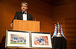 St Johnstone FC Scottish Cup Celebration Dinner at Perth Concert Hall...01.02.15<br /> Gordon Bannerman<br /> Picture by Graeme Hart.<br /> Copyright Perthshire Picture Agency<br /> Tel: 01738 623350  Mobile: 07990 594431
